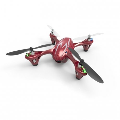 Фотография товара квадрокоптер Hubsan X4 H107C Red-Black-Silver (126856)