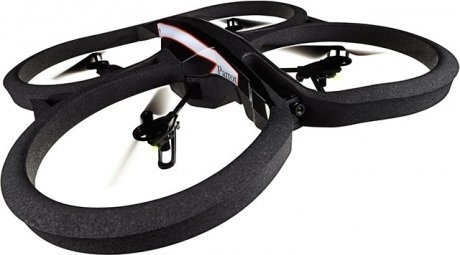 Квадрокоптер Parrot Ar Drone 2.0 Power Edition Area 2 Black PF721008