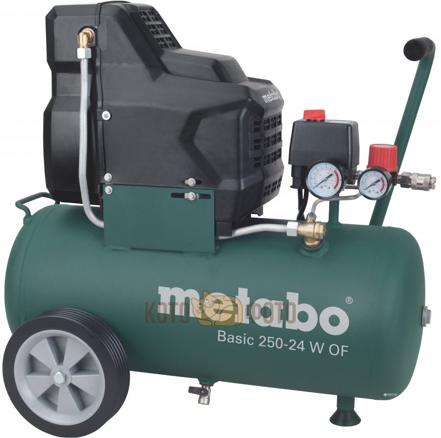 Компрессор поршневой Metabo Basic 250-24 W OF (601532000) пневмоинструмент