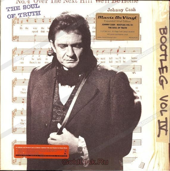 Виниловая пластинка Cash, Johnny, The Bootleg Series Vol. 4: The Soul Of Truth johnny cash the great lost performance