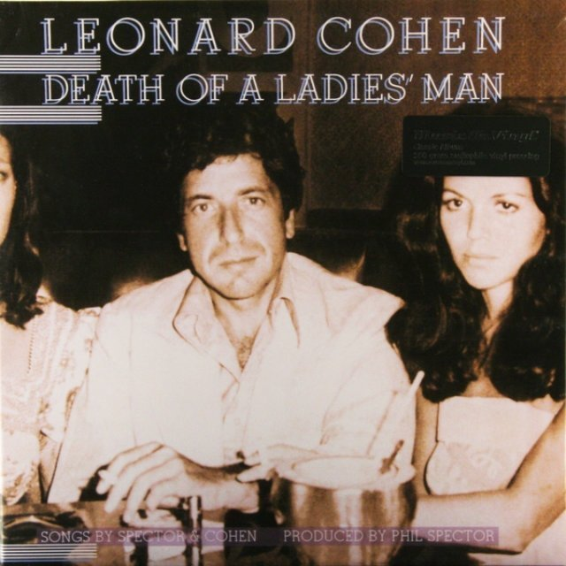 Виниловая пластинка Cohen, Leonard, Death Of A Ladies Man a maze of death