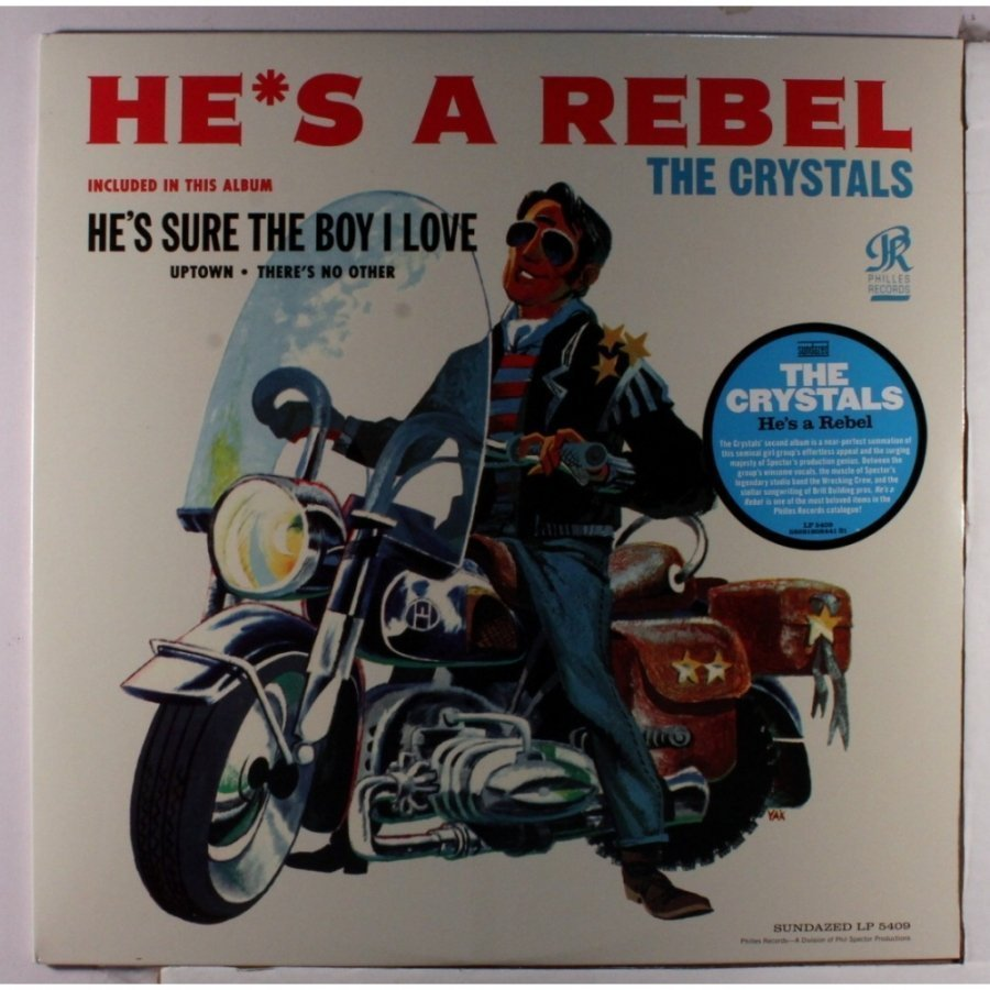 Виниловая пластинка Crystals, The, HeS A Rebel nemicon hes 1024 2md 1024p r encoder hes 1024 2md 1024ppr new in box free shipping