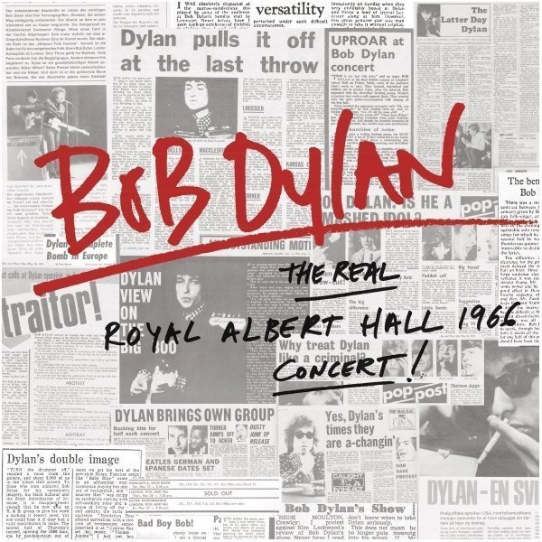 Виниловая пластинка Dylan, Bob, The Real Royal Albert Hall 1966 Concert thomas earnshaw es 8014 01