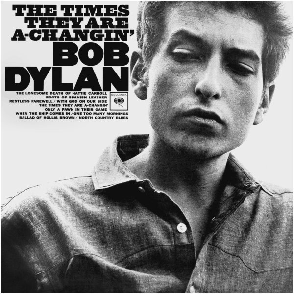 Виниловая пластинка Dylan, Bob, The Times They Are A-Changin' (0889853443215)