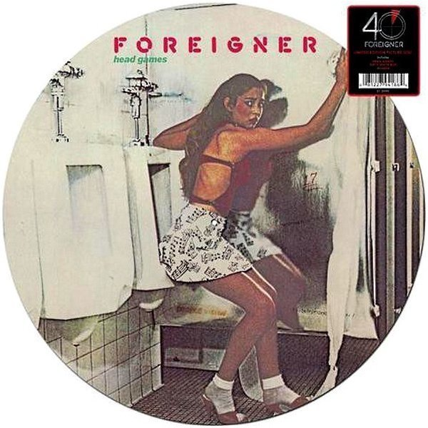Виниловая пластинка Foreigner, Head Games foreigner foreigner 40