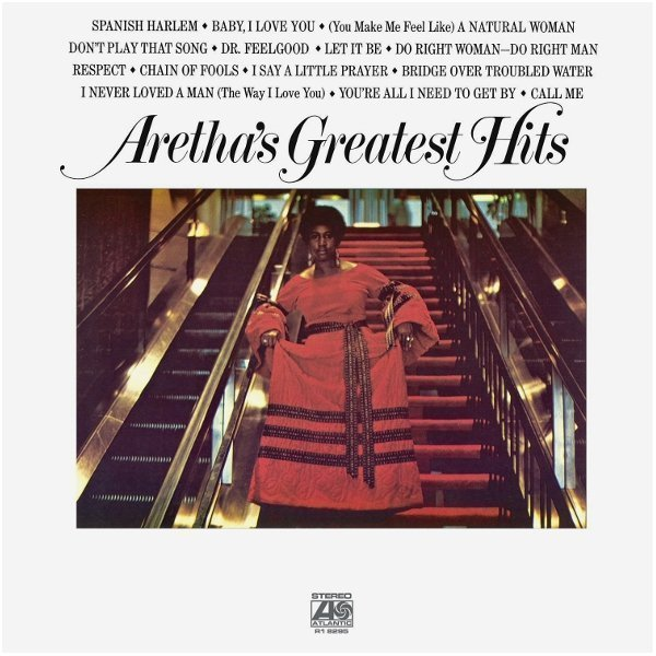 Виниловая пластинка Franklin, Aretha, ArethaS Greatest Hits