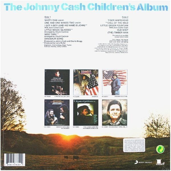 Виниловая пластинка Cash, Johnny, The Johnny Cash ChildrenS Album
