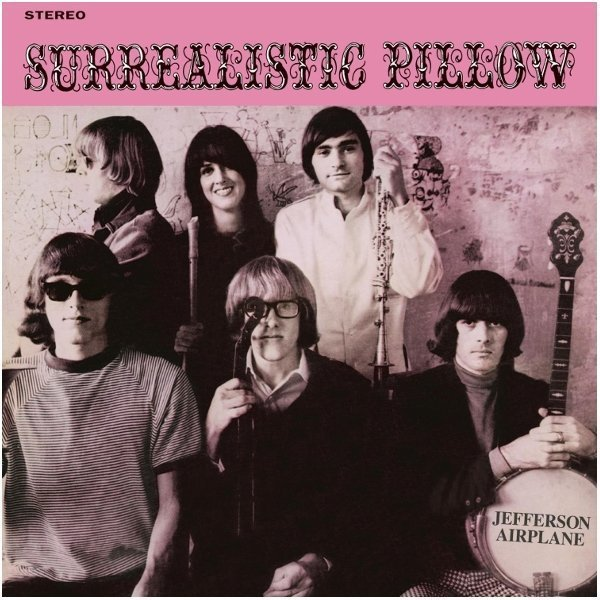 Виниловая пластинка Jefferson Airplane, Surrealistic Pillow бордюр cifre mold opal emerald 5х30