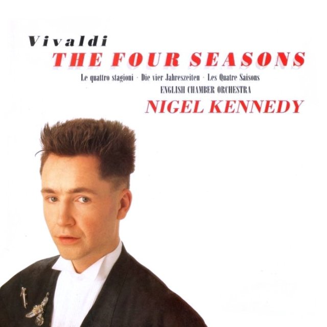 Виниловая пластинка Kennedy, Nigel, Vivaldi: The Four Seasons vivaldi vivalditrevor pinnock the four seasons