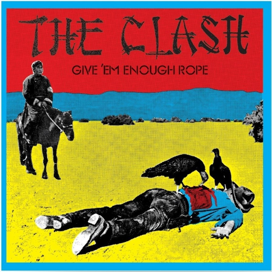 Виниловая пластинка Clash, The, Give 'Em Enough Rope (0889854195410) the clash sandinista