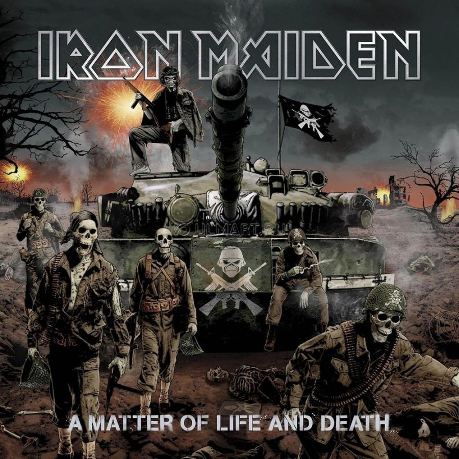 Виниловая пластинка Iron Maiden, A Matter Of Life and Death rhyming life and death