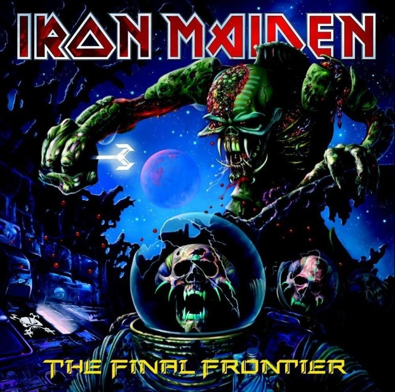 Виниловая пластинка Iron Maiden, The Final Frontier iron maiden iron maiden running free live