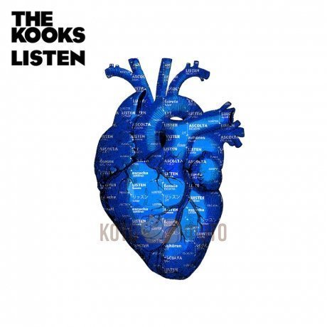 Пластинка виниловая Kooks «Listen» LP the kooks the kooks best of so far 2 lp