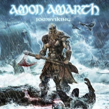 Виниловая Пластинка Amon Amarth Jomsviking amon amarth swe