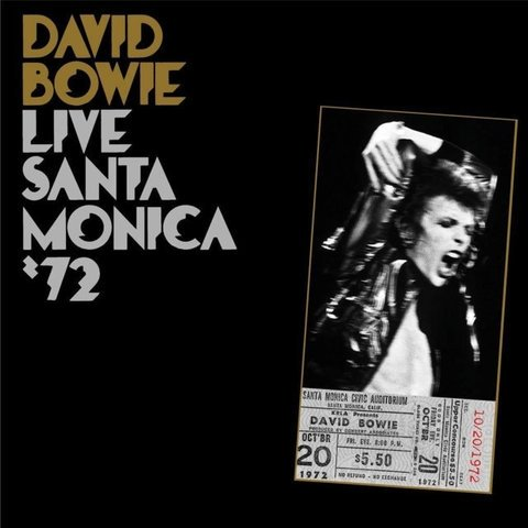 Виниловая пластинка Bowie, David, Live Santa Monica 72 виниловая пластинка cd david bowie ziggy stardust and the spiders from page 3
