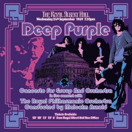 Виниловая Пластинка Deep Purple Concerto For Group And Orchestra deep purple doing their thing 1970