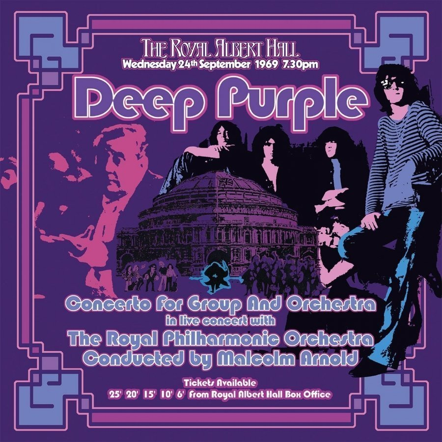 Виниловая пластинка Deep Purple, Concerto For Group and Orchestra (Box Set) виниловая пластинка deep purple the battle rages on