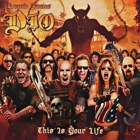 Виниловая пластинка Dio / Tribute, Ronnie James Dio - This Is Your Life tribute to james last mannheim