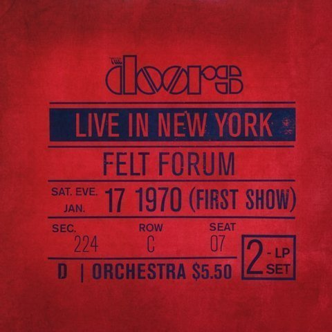 Виниловая пластинка Doors, The, Live In New York (Remastered)