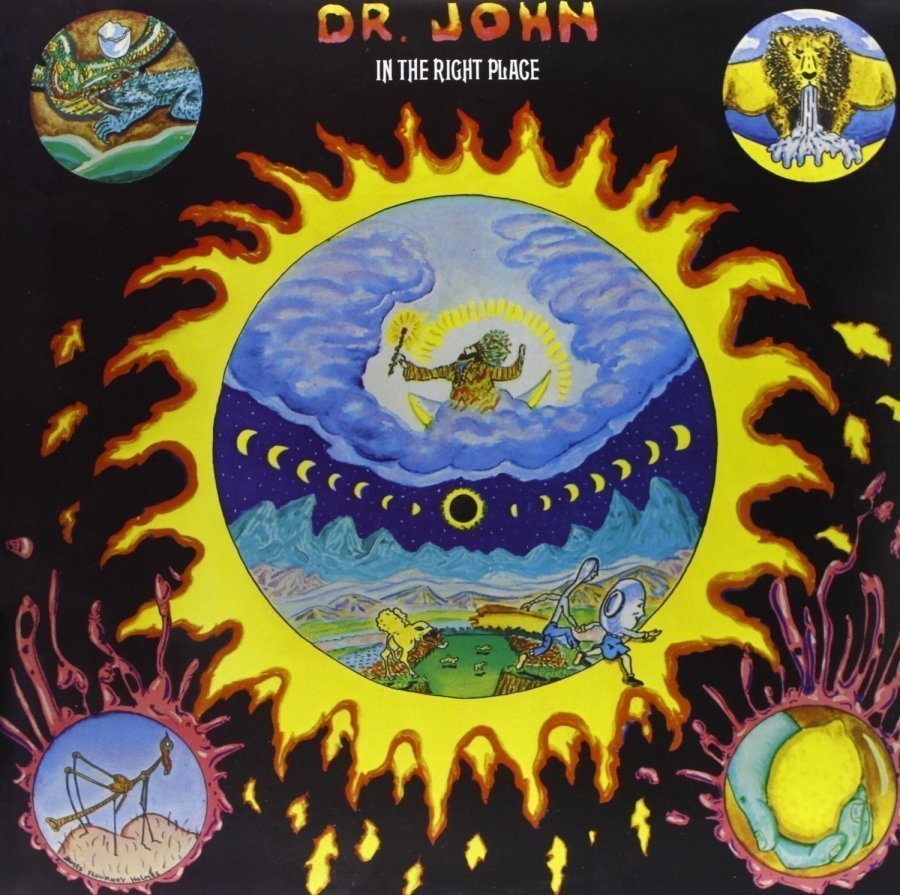 Виниловая пластинка Dr. John, In The Right Place john burley the hiding place