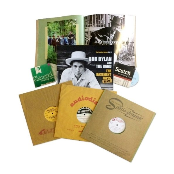 Виниловая пластинка Dylan, Bob / Band, The, The Basement Tapes Raw (3LP, 2CD, Box Set) цена 2017