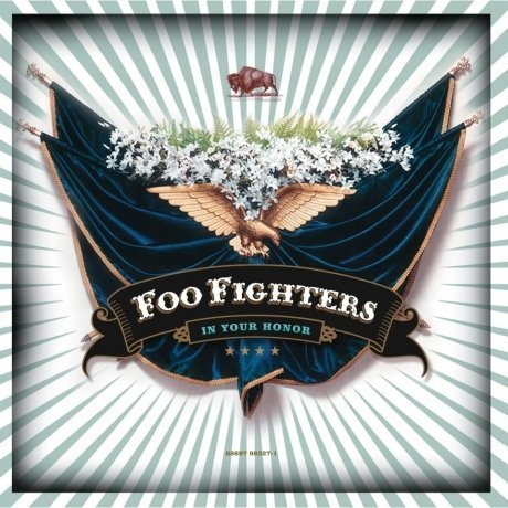 Виниловая Пластинка Foo Fighters In Your Honor the colour and the shape виниловая пластинка