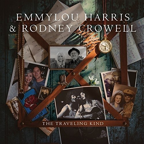Виниловая пластинка Harris, Emmylou / Crowell, Rodney, The Traveling Kind (LP, CD) долли партон линда ронстадт эммилу харрис dolly parton linda ronstadt emmylou harris trio