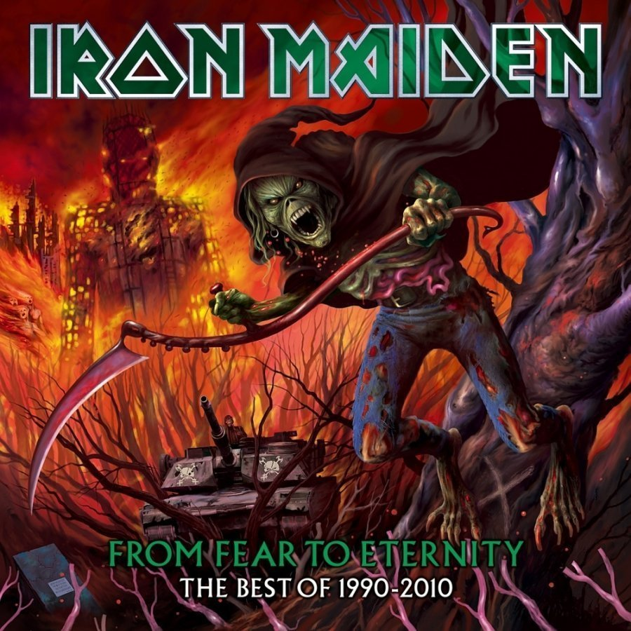 Виниловая пластинка Iron Maiden, From Fear To Eternity: The Best Of 1990-2010 cd iron maiden fear of the dark remastered