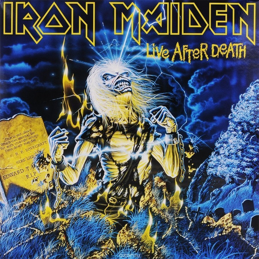 Виниловая пластинка Iron Maiden, Live After Death (Remastered) cd iron maiden death on the road live