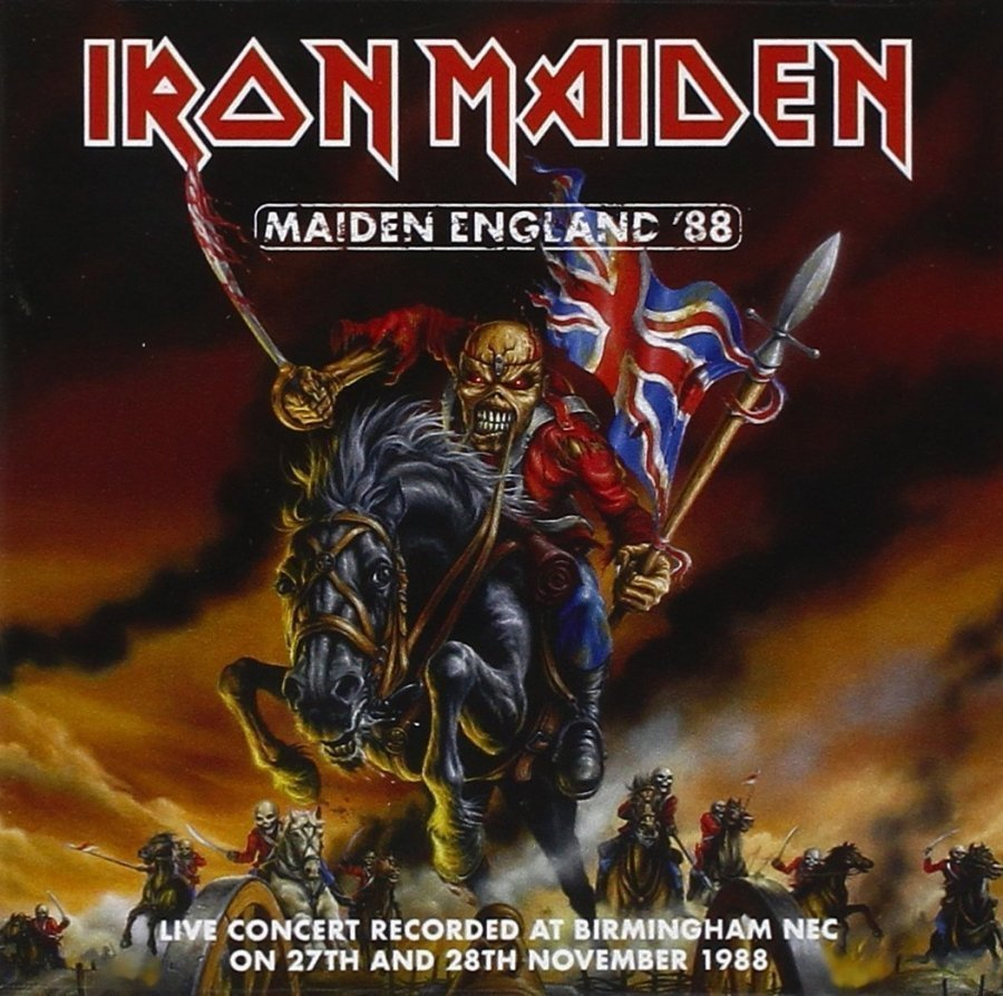 Виниловая пластинка Iron Maiden, Maiden England 88 (Remastered) life is full of choices color changes t shirt