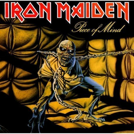 Виниловая Пластинка Iron Maiden Piece Of Mind свитшот print bar iron maiden piece of mind