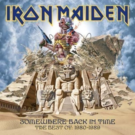 Виниловая Пластинка Iron Maiden Somewhere Back In Time: The Best Of 1980-1989 cd диск iron maiden somewhere back in time the best of 1980 1989 1 cd