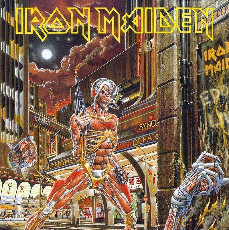 Виниловая пластинка Iron Maiden, Somewhere In Time iron maiden iron maiden somewhere in time