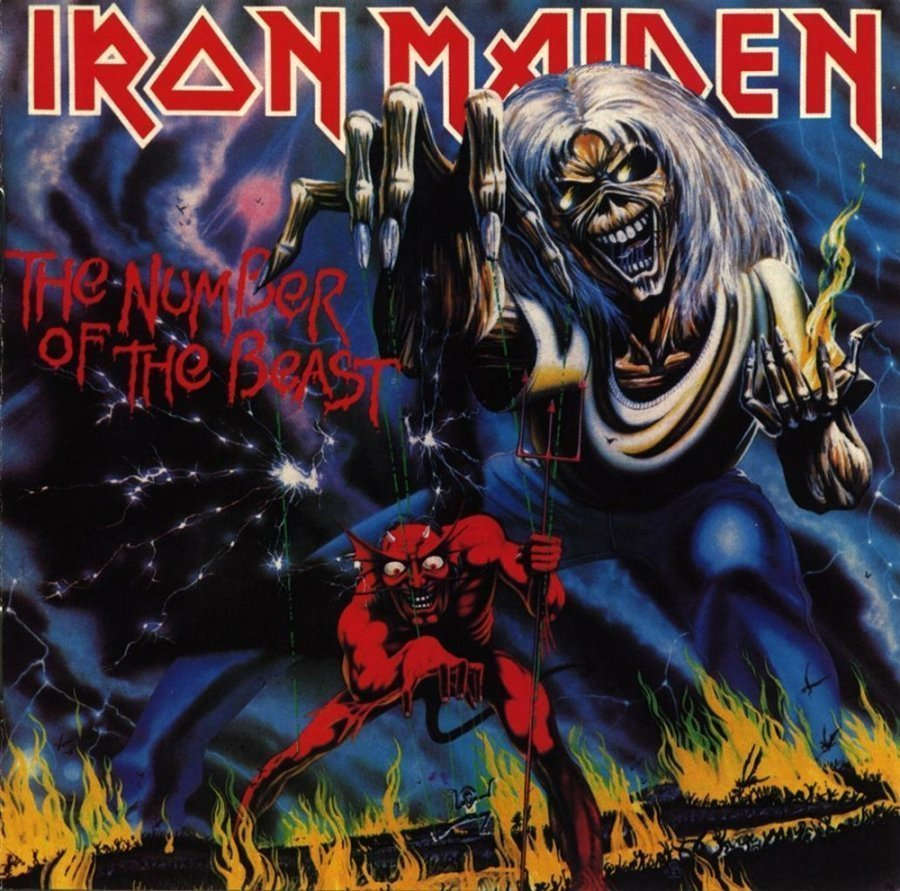 Виниловая пластинка Iron Maiden, The Number Of The Beast iron maiden visions of the beast 2 dvd
