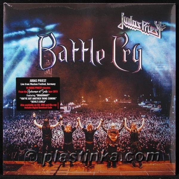 Виниловая пластинка Judas Priest, Battle Cry (Limited) judas priest battle cry