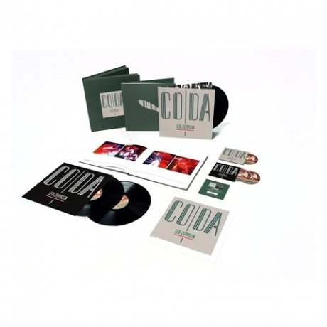 Виниловая Пластинка Led Zeppelin Coda (Super deluxe edition box set) led zeppelin lll deluxe edition виниловая пластинка