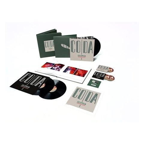 Виниловая пластинка Led Zeppelin, Coda (3LP, 3CD, Deluxe Box Set, Remastered)