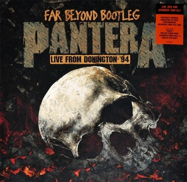 Виниловая пластинка Pantera, Far Beyond Bootleg: Live From Donington 94 худи print bar pantera cowboys from hell