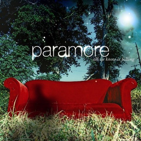 Виниловая пластинка Paramore, All We Know Is Falling all we know