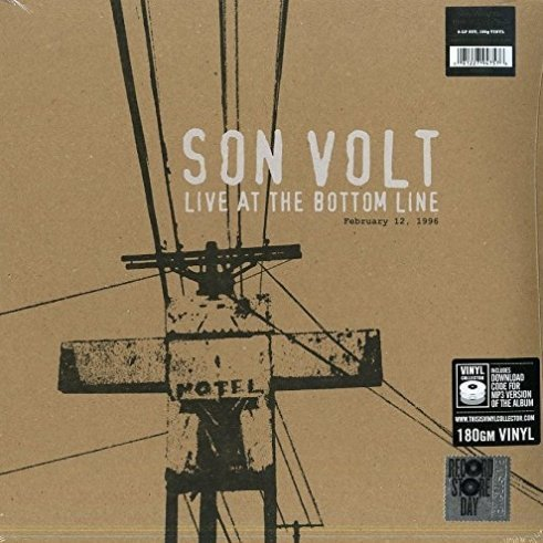 Виниловая пластинка Son Volt, Live At The Bottom Line 2/12/96 (Remastered) round toe women winter boots denim design high top lace up shoes butterfly knot embellished crystal decor stylish short booties