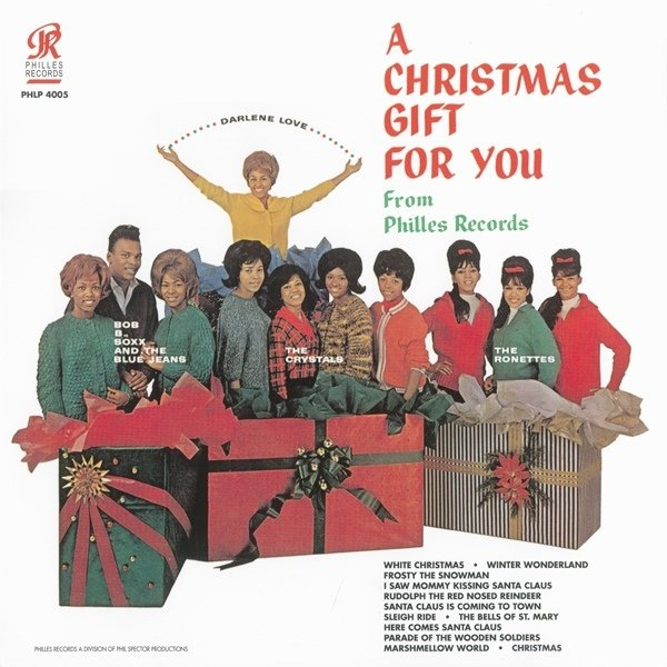 Виниловая пластинка Spector, Phil, A Christmas Gift For You From Phil Spector виниловая пластинка houston whitney i wish you love more from the bodyguard