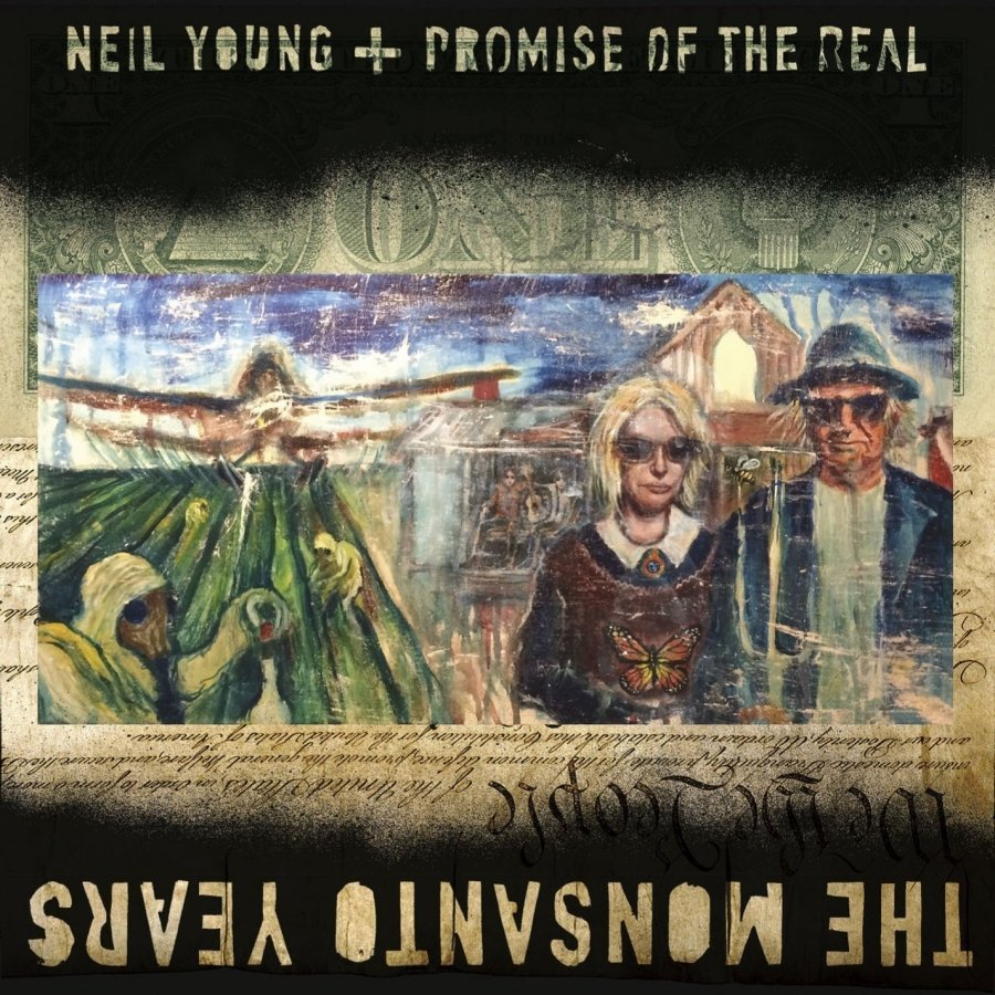 Виниловая пластинка Young, Neil / Promise Of The Real, The Monsanto Years (Limited) 2018 real limited bodysuit