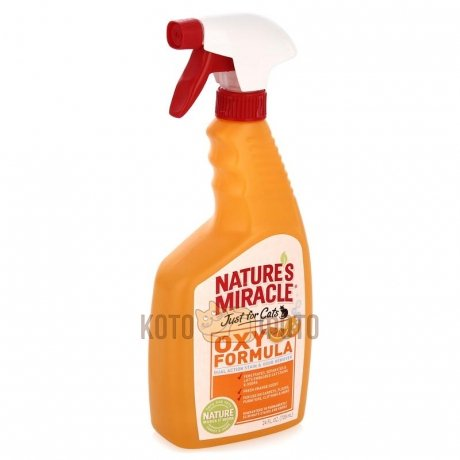 Natures Miracle Уничтожитель Запахов Кошачьих Меток И Мочи Nm Just For Cats Stain&Odor Remover Oran от Kotofoto
