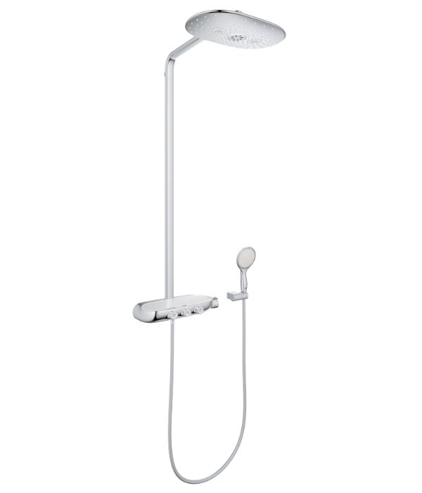 Душевая система Grohe Rainshower Smart Control 26250000 верхний душ grohe rainshower 27470ls0