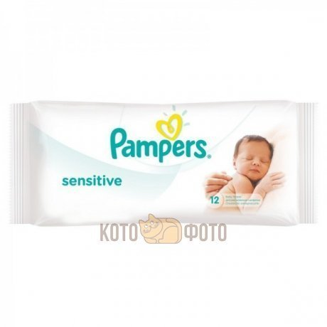 Салфетки Pampers Sensitive детские N12