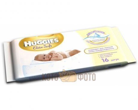 Салфетки Huggies elite soft N16