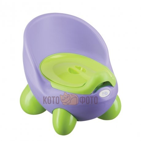 Горшок ERGO POTTY 6 Happy baby 34012 (Violet)
