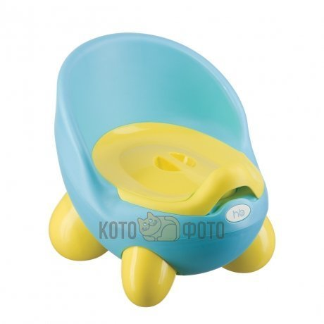 Горшок ERGO POTTY 6 Happy baby 34012 (Blue)