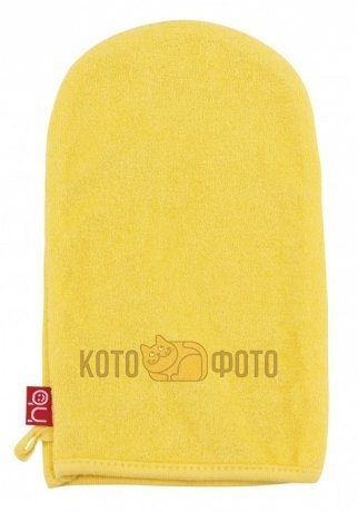 Мочалка-рукавичка Happy baby WASH and BATH  35005 (Yellow)