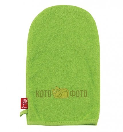 Мочалка-рукавичка Happy baby WASH and BATH  35005 (Green)